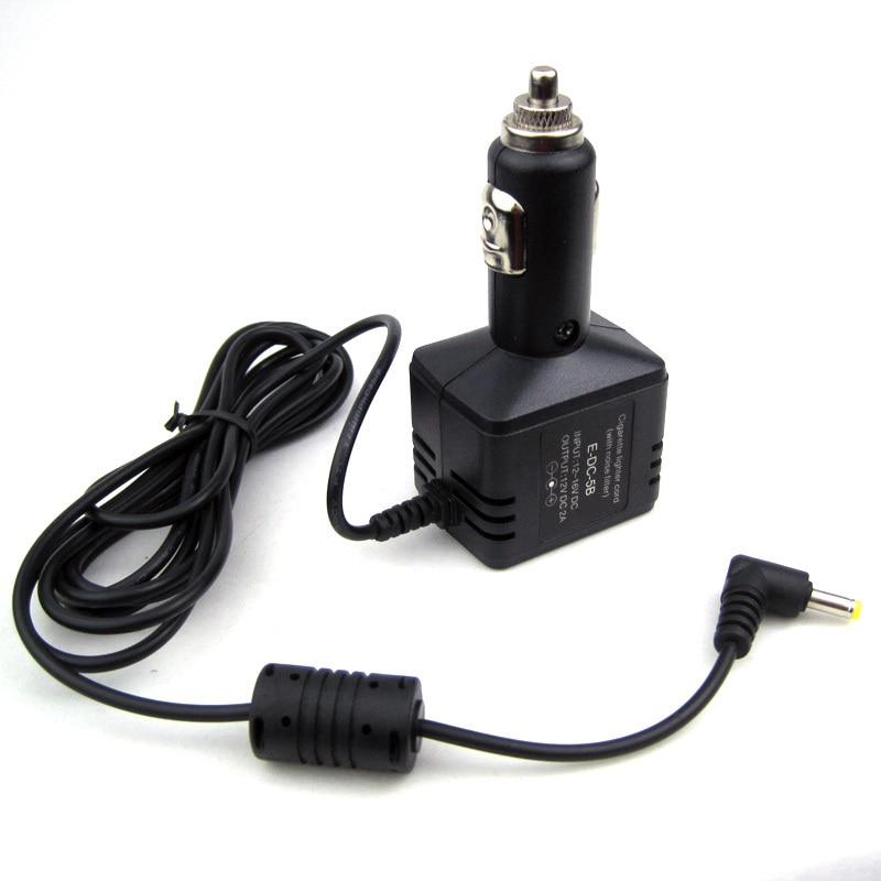 Car DC Charger Adapter For Yaesu VX-5R VX-7R VX-8R HX-471S EDC5B Radios Power
