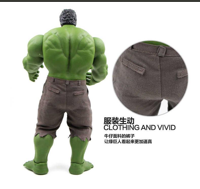 Incrível hulk homem de ferro hulk buster hulkbuster 42 cm pvc brinquedos figura de ação hulk esmagar