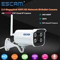 ESCAM QD900 WI-FI Ip-камера 2-МЕГАПИКСЕЛЬНАЯ Full HD 1080 P Сети Ик Пуля IP66 Onvif Открытый Водонепроницаемый Беспроводной Камеры ВИДЕОНАБЛЮДЕНИЯ камера видеонаблюдения ip камеры