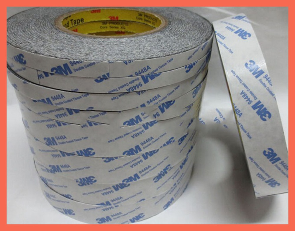(35mm*50m),3M9448 double-sided adhesive tape, high temperature and ultra - thin, no trace of adhesive used in mobile toys,