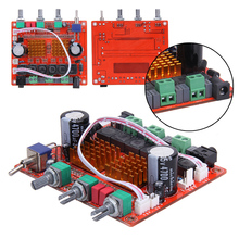 TPA3116D2 2.1 12 В 50Wx2 + 100 Вт HIFI Цифровой усилитель сабвуфера AMP совета 24 В