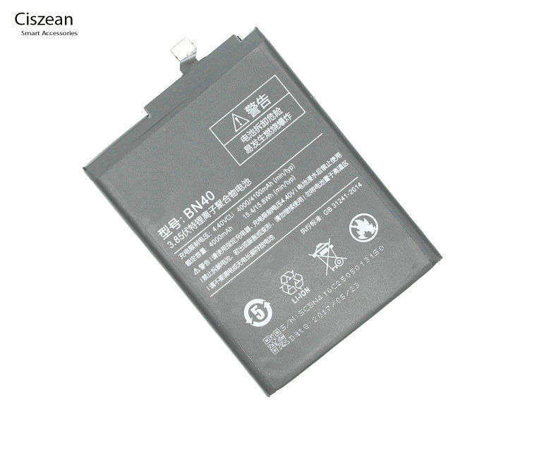 Ciszean BN Replacement-Battery Phone Xiaomi Redmi For Hongmi-Redrice 4-Pro Prime 3G 40/Bn40