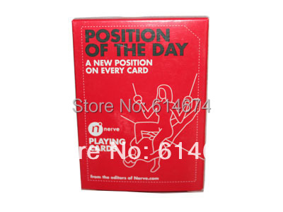 Can sex position playing card deck