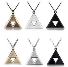 dongsheng Hot Sale Game Jewelry Necklace Anime The Legend of Zelda Metal Pendant Necklace Men Gift -30