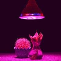 Full spectrum e27 15 w 21 w 27 w 36 w 45 w 54 w led roślin rosną światła hydroponika dla roślin sadzonki storczyki kryty mini-kaktus roślin