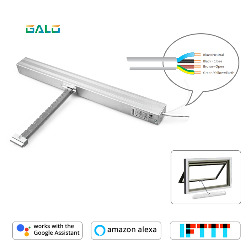 A-OK Chain Motorized Window Opener, German Design Products, Controlled By Your Wired Controller