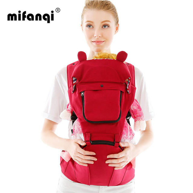 360 Carrier Hip Seat 13-18Months 15kg Infant Carrier Stroller Face-To-Face Polyester Echarpe Porte Bebe Mochila Portabebes