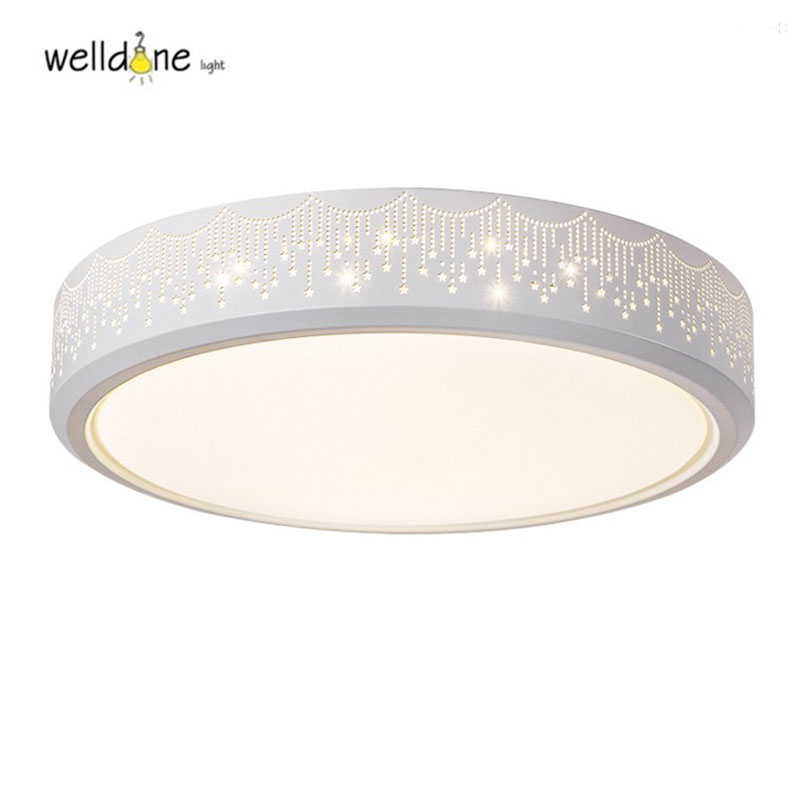 Free shipping Led iron bird nest ceilling lamp Engraving Flower Bedroom lamp Acrylic lampshade ceiling Lamp 85-265V free shipping 15w led ceiling lamp lantern indoor lamp led spotlight cool warm white 85 265v