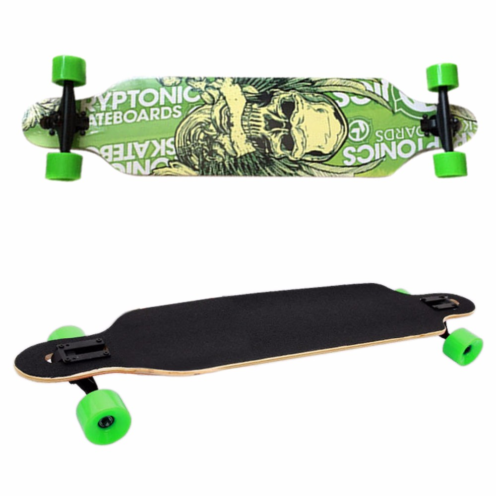 New Professional Canadian Maple Skull Skateboard Road Longboard Skate Board Adult 4 Wheels Downhill Street Long Board electric longboard professional skateboard street road skate board 4 wheel long board 7 layers maple 1 layer bamboo page 9