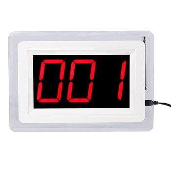 Беспроводной ресторанный пейджер, приемник вызова, пейджер, система 433 МГц для официанта с голосовой отчетностью F4400B