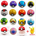2017 Hottest Kids 13Styles 13Pcs Pokeball 1pcs Free Random Tiny Figures Inside Anime Action Toy Figures for Children