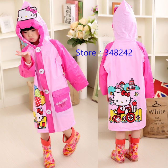 1cead0933 quality f2a68 29cc3 student raincoat baby children cartoon kids ...