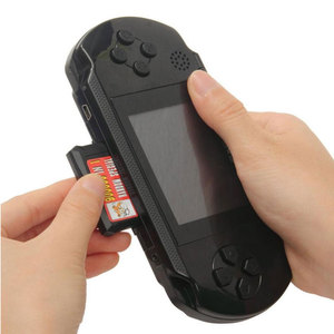 Image 2 - 3 Portable 16 Bit Retro PXP3 Slim Station Video Games Player Handheld Game Console 2pcs Game Card built in 150 Classic Games