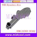 Новый масляный регулирующий клапан VVT с переменным временем соленоида OE NO. 24360-3CAA2 243603CAA2 918031 918-031 для Hyundai Kia