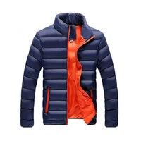2018ジャケット男性新しい秋冬メンズコートとジャケットカジュアル外套防風綿パーカー男