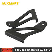 2x Roof Mounting Brackets 50 Inch Curved LED Light Bar Upper Windshield Roof Mounts Holder For