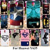 TAOYUNXI Soft Plastic Phone Cases For Huawei Ascend Y635 CL00 Y635-CL00 5.0 inch Covers Captain America Batman Capa Silicone