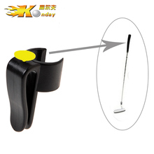 10pcs New Arrival Golf Putter Holder Clip with Ball Marker Black Plastic Golf Club Grips Golf Accessories