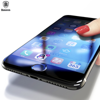 3D Screen Protector For iPhone 7 6 6s Baseus Premium Tempered Glass For iPhone 7 6 6s Plus Full Cover Protective Glass Film