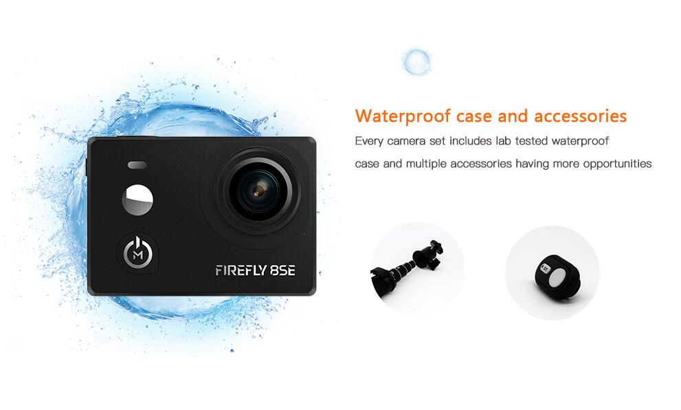 In Stock Hawkeye Firefly 8SE Action Camera With Touchscreen 4K 30fps 90 Degree Super-View Bluetooth FPV Sport Action CamIn Stock Hawkeye Firefly 8SE Action Camera With Touchscreen 4K 30fps 90 Degree Super-View Bluetooth FPV Sport Action Cam