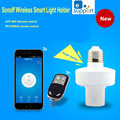 New ITEAD Sonoff E27 WiFi light bulbs holder Slampher 433MHz RF Wireless Light Holder For Smart Home Improve IOS Android Remote