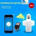 Nueva ITEAD Sonoff E27 WiFi bombillas holder Slampher 433 MHz Luz RF Inalámbrico Para Smart Home Mejorar IOS Android remoto