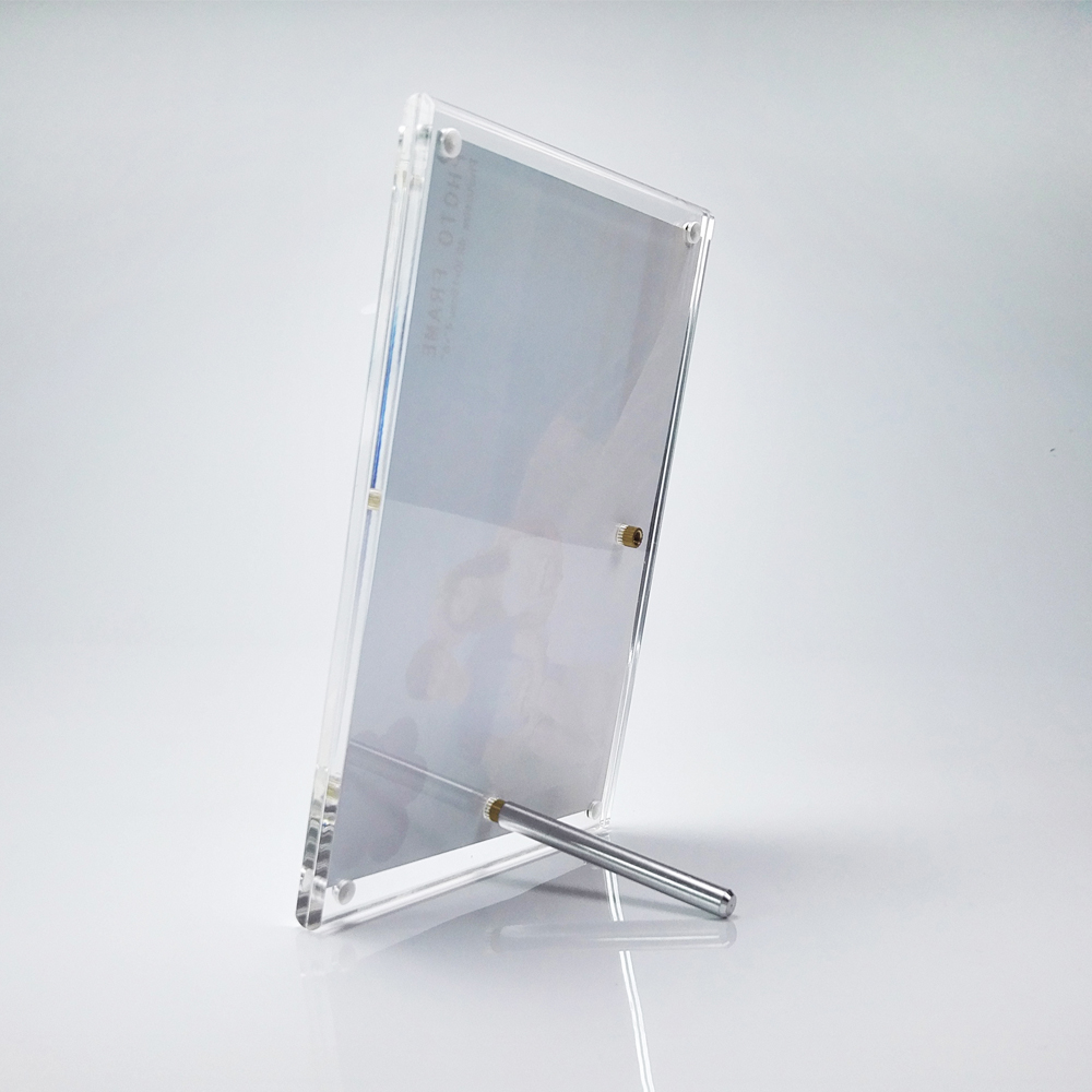 2 unitspack free standing screw lucite perspex photo picture 2 unitspack free standing screw lucite perspex photo picture frame holders wedding photo frames pf055 in frame from home garden on aliexpress jeuxipadfo Image collections