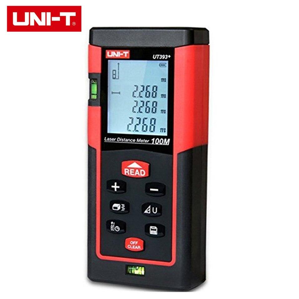 2017 UNI-T UT393+ 100m Handheld Digital Laser Distance Meter Rangefinder for Construction Real Estate Auto Laser Off obioma ebisike a real estate accounting made easy