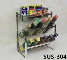 Kitchen Shelf Microwave Storage rack Storage rack Oven Shelf 2 - layer 304 stainless steel