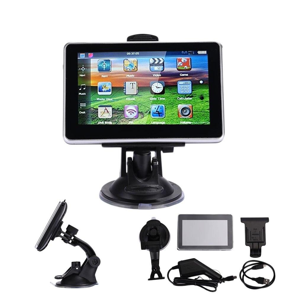 Vehemo 8 ГБ автомобильный навигатор gps навигатор цифровой датчики для географические карты навигации Универсальный электронный альбом фотографии