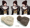 2015 Autumn and winter free shipping vintage hat Wool knitted fashion cap male men winter beanies with pomp