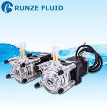 RUNZE промышленный Перистальтический дозирующий насос высокого давления регулируемый с шаговым мотором 24 В