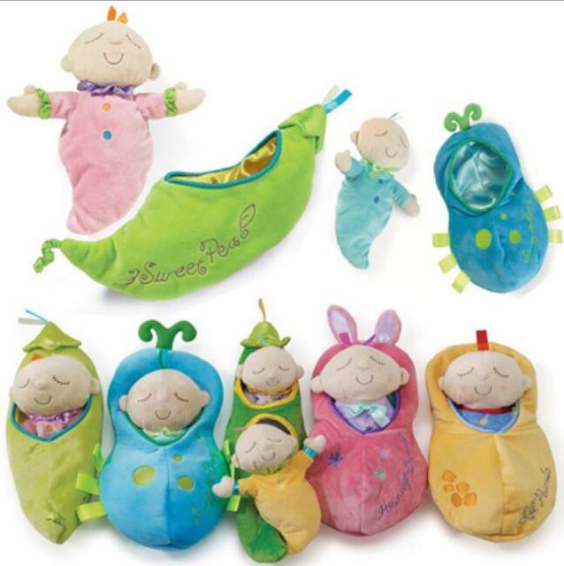 Homem hattan Ervilha Boneca Brinquedos de Pelúcia Do Bebê Aplacar Brinquedos Presentes para Meninas Presentes de Natal para Crianças 34 cm