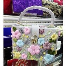 Новая Мода ленты Аппликации Женщины Сумки Роскошные Атласные Цветы плеча сумки PU Щитка Tote Сумки Леди Кошелек Клатчи Z8180(China (Mainland))