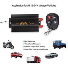 Sistema de Seguimiento de GSM GPRS GPS del coche del Perseguidor TK103B Coban GPS103B Perseguidor de la Localización de Alarma de La Motocicleta de Control Remoto Cut Off Potencia Petrolera