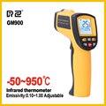 RZ Ir termómetro de infrarrojos cámara térmica digital portátil coche electrónico de temperatura no en contacto con higrómetro 950 C industrial
