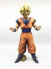 Special Anime Paint Color Big Size Dragon Ball Z Super Saiyan SON GOKU Manga Dimension PVC Action Figure Collection Model Toy