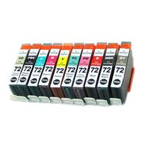 vilaxh PGI-72 Compatible Ink Cartridge For Canon PGI72 PGI 72 PIXMA PRO-10 Printer