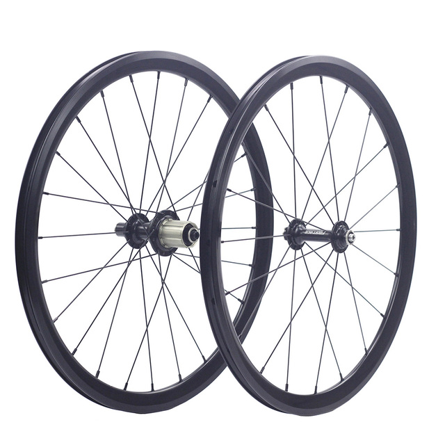 "Silverock 20"" 1 1/8"" 451 406 Alloy Minivelo Wheels XR270 100mm 130mm Rim V Brake for Folding Recumbent Bike Mini velo Wheelset"