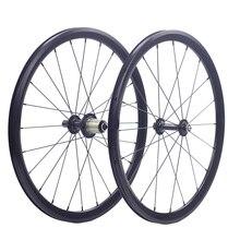 """Silverock 20 """"1 1/8"""" 451 406 aluminiowe koła Minivelo XR270 100mm 130mm obręcz V hamulec do składanego rower wolnostojący Mini velo zestaw kołowy"""