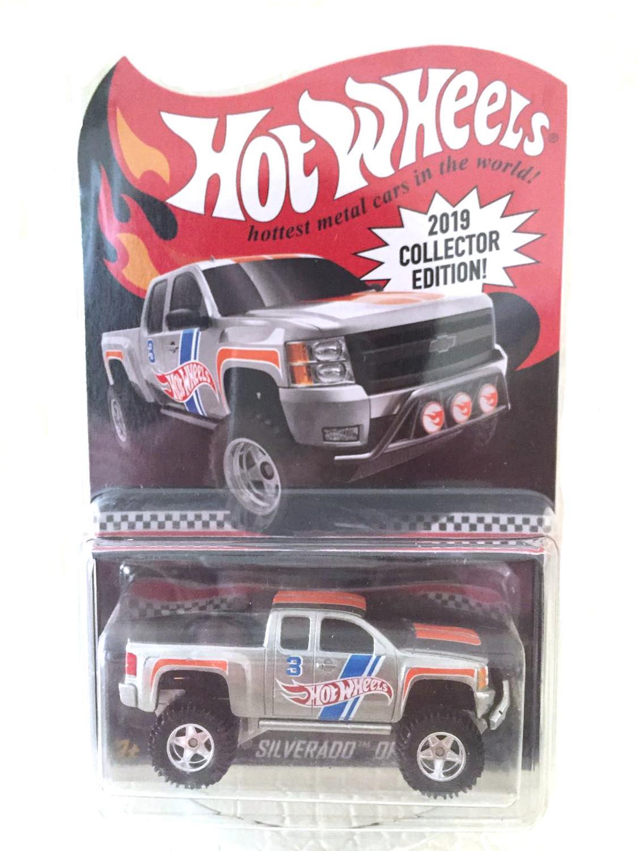 Hot Wheels машинка 2019 Red Line Club Chevy Silverado Коллекционная серия металлические Литые модели автомобилей детские игрушки подарок