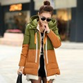 2016 Winter Jacket Women Parka Wadded Jacket Female Outerwear Thickening Casual Women down cotton Women's winter jacket coats