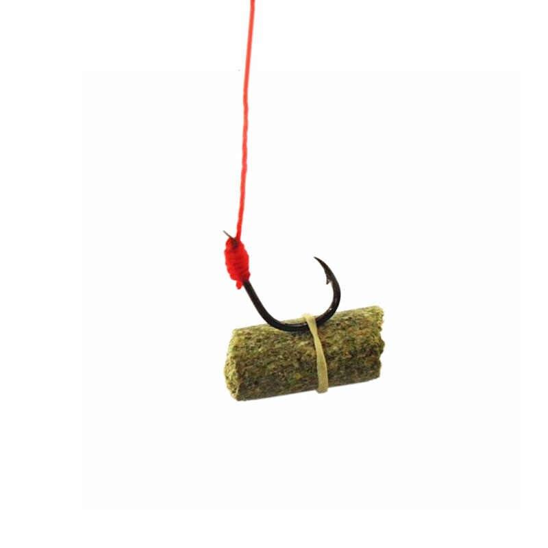 1 túi carp fishing bait mùi Grass Carp Bả Côn Trùng Đàn Hồi Hạt Que Mồi Câu Cá