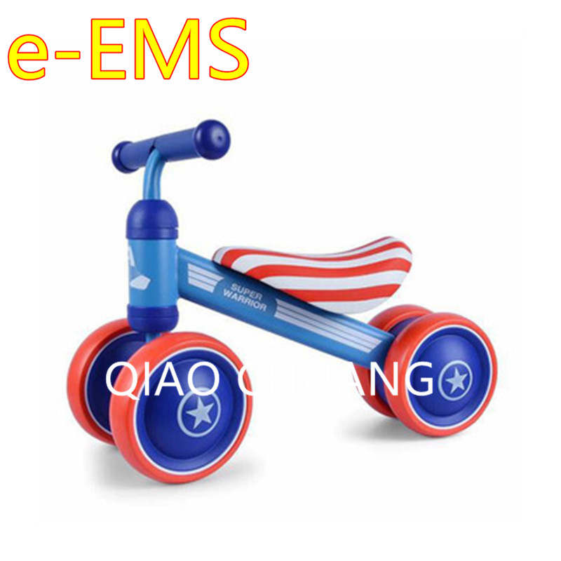 Exercise Your Baby's Balance Four-wheeled First Bike Baby Walker Balance Bike Baby Swing Car Mute Wheel Scooter G1519 children baby swing car three round no pedals balance bike mute wheel skid resistance exercise your baby s balance g1521