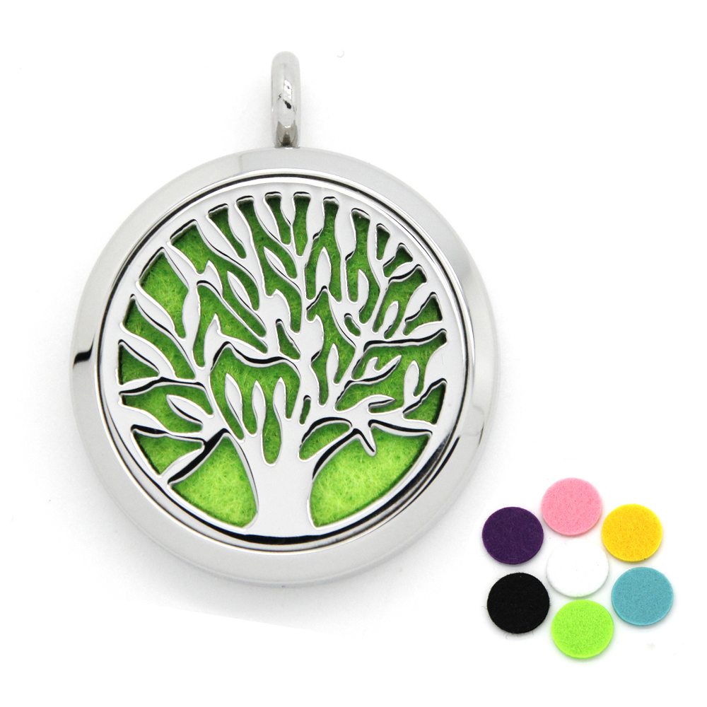 Hollow Stainless Steel Magnet Open Tree of Life Woms