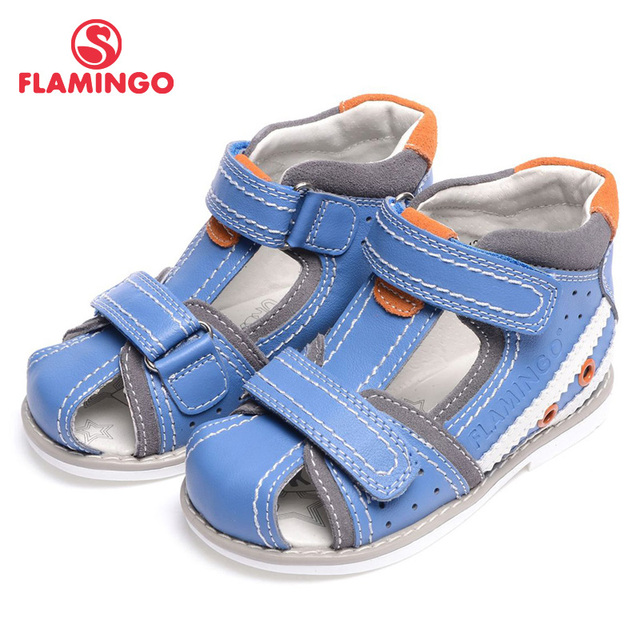 e2f6d0219 FLAMINGO 2016 new arrival summer kids shoes fashion high quality 100%  genuine leather children sandals for boy XS5812