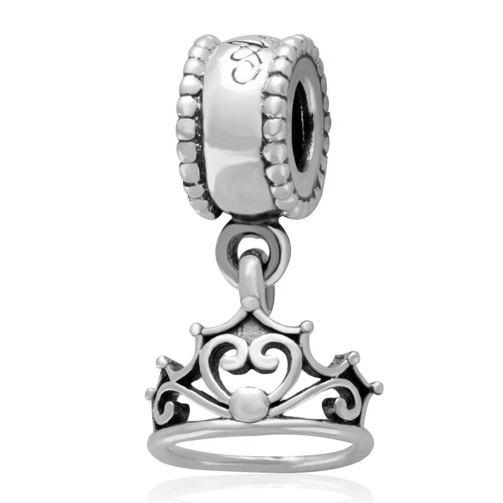 Beads 2019 Fashion New 925 Sterling Silver Bead Charm Love Heart My Princess Tiara Royal Crown Pendant Bead Fit Pandora Bracelet Bangle Diy Jewelry Jewelry & Accessories