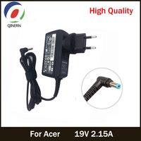 Адаптер переменного тока для ноутбука Acer Aspire One D255 533 D257 D260 W500P W501 W501P E15, зарядное устройство, EU 19V 2.15A 40W 5,5*1,7mm