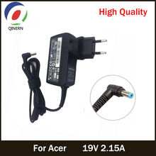 EU US UK AU 19V 2.15A 5.5*1.7mm AC Laptop Adapter For Acer Aspire D255 533 D257 D260 W500P W501 W501P E15 Power Supply Charger