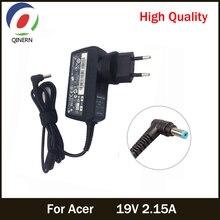 Ue US royaume uni AU 19V 2.15A 5.5*1.7mm adaptateur pour ordinateur portable ca pour Acer Aspire D255 533 D257 D260 W500P W501 W501P E15 chargeur dalimentation